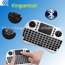 Handheld slim wireless keyboard ,2.4G Mini Fly Air Mouse Keyboard