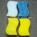 Formairregular de cozinha eco produto de limpeza da esponja, prato de lavagem da esponja