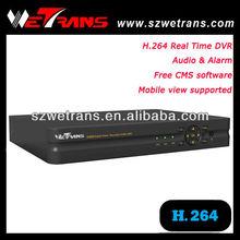 WETRANS TD-5204 4CH Real Time H 264 Network DVR Setup