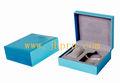 Pequeña de papel caja de regalo perfume con rebaño de papel