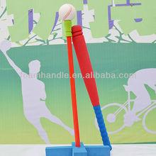 Children mini foam multicolor rubber kids baseball bat