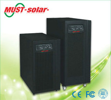<MUST Solar>UPS true on line double convertion 3 phase in Single phase out 15KVA