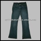 2013 New Model Kids Blue Boot-Leg Girl's Jeans Demin Pants