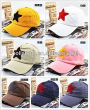 2013 Wholesale Man Lady Star Baseball Cap