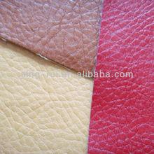 Imitated Lichi Reach Standard PU Leather For Sofa/Shoe Twill Backing(cuerina sitetica)