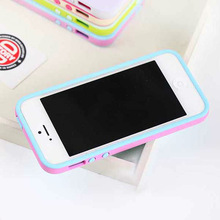 soft silicone color change back cover for iphone 5