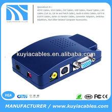 VGA To TV Composite AV S-video RCA Video Converter