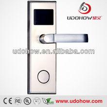 Intelligent networked RFID hotel door lock