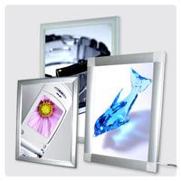 High Brightness Aluminum Or Cystal Frame Slim snap frame light box