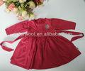 bebé niña vestido de lana