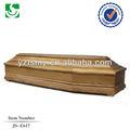 adulto cremação funeral caixão de madeira maciça