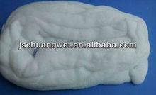 bleached cotton sliver