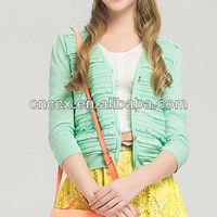 13STC5131 lady name brand cardigan sweater