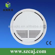 Wireless 9v digital smoke detector for house security