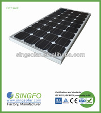 swimming pool solar panels for sale 100w