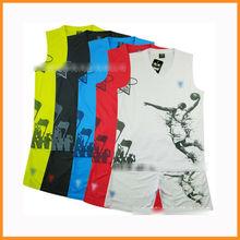 2013 Runtowell best basketball jersey design / basketball jersey and shorts designs / wholesale blank basketball jerseys