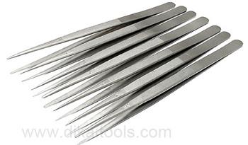 jewellery tweezers stainless steel Diamond Tweezers with diamond coated tips DK3001