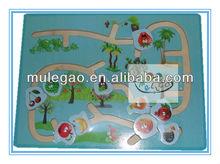 Laberinto de madera bordo de juguete& juguetesdemadera