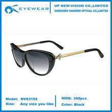 Butterfly Sunglasses cat eye Black/Gold