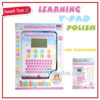 Polish & English language learning pad for kids
