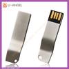 Unique metal usb flash drive , supper thin USB stick , with logo print USB flash disk