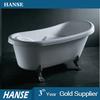 HS-B1600T antiqu bath tub/ royal bathtub/ acrylic shallow bathtub