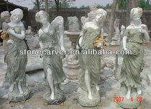 Four Season Garden Marble Statue