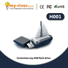 2014 new Sailing Boat gift usb flash drive 16gb USB2.0