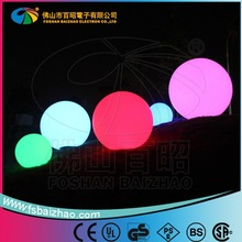 led illuminating ball outdoor lights for decoration led magic ball lights super bright outdoor solar lights