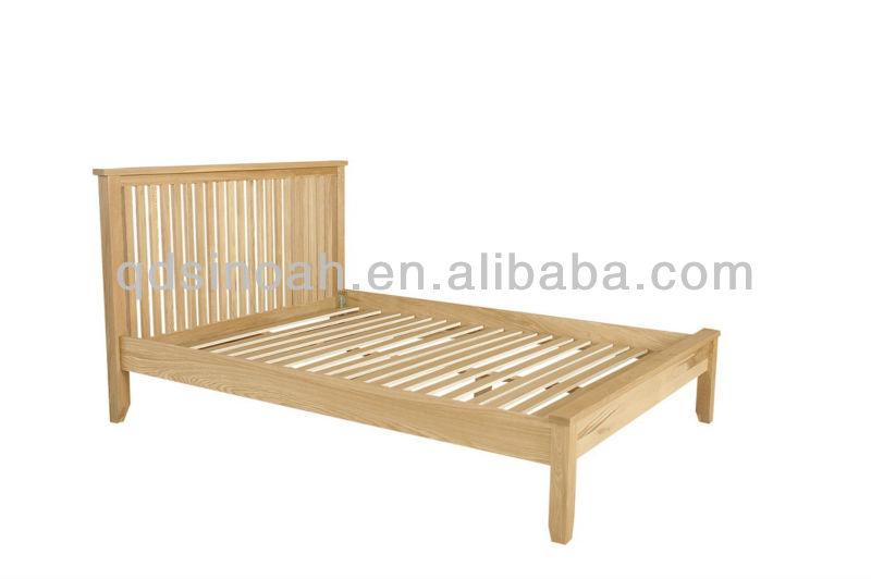 Queen Wood Bed Frames Solid Oak Bed Wood Bed Frame