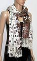 Mulheres casual vestido de uma peça em estampa floral jdy- 024# 100% soft lenço acrílico digital lenço impresso