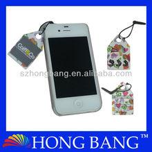 HB828 Black mobile phone dust plug