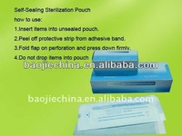 knife sterilizer paper/packaging/plastic pouch