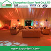 Cheap clear roof wedding tent decoration