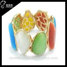 Fashionable cat eye natural stone bracelet