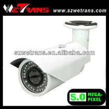 Wetrans Onvif Waterproof 2.0 Varifocal 4-9mm Lens 25M IR View 5MP All In One IP Network Camera