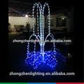 Luz de natal 3D led iluminado angel ao ar livre decorações de natal