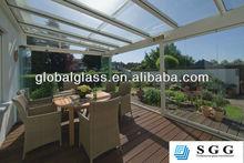 High quality glass garden room