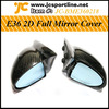 For BMW E36 2D Full Side Mirror,Carbon Auto Mirror Cover