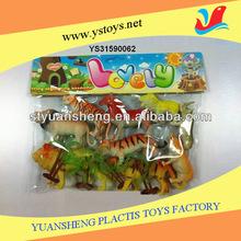 PVC Zoo Animal Toys Set Kids Forest Animal Toys