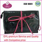 2013 black and rose belt free pattern cosmetic bag