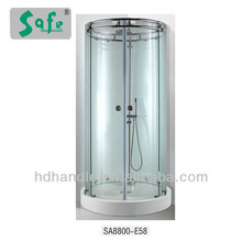 Glass shower enclose made of stainless steel hardware SA8800-E58