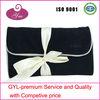2013 black very soft velvet name brand cosmetic bag