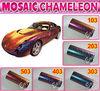 Tuning cars BY mosaic Chameleon carbon fiber vinyl /chameleon car wrapping vinyl