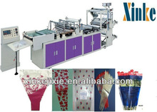 Machine Manufacturers Fully Automatic Plastic Abnormity bags/Flower Bags/Fresh Food Packaging Bags Making Machines