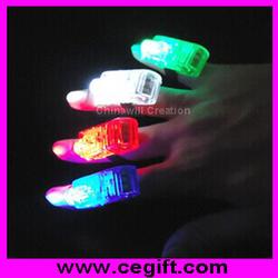 Led Light Finger Ring