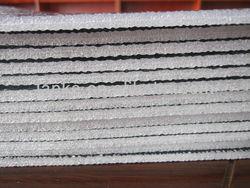 silver polyurethane foam insulation 001k/heat roof insulation
