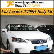 For Lexus CT200H PU Body Kit (front lip, rear lip ,side skirt)