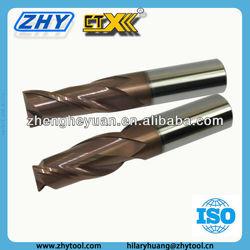 2 flutes 4 flutes cnc machine tool milling tools