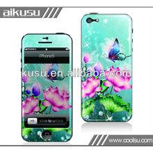 2013 anti-slip material for iphone5 gel skin sticker